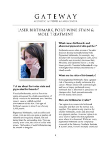 Laser Hair Removal Fact Sheet